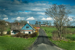 Scania County, Skane lan, South Sweden. Scania County, Skane lan, Sweden Royalty Free Stock Photo