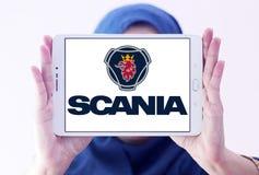 Scania-Firmenlogo Stockbild