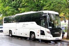 Scania-het Reizen stock foto