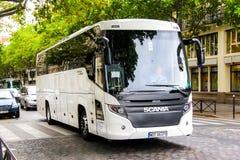 Scania-het Reizen stock afbeelding