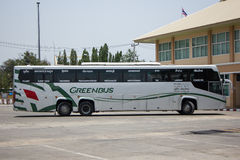 Scania 15 Meter bus of Greenbus company Royalty Free Stock Photo
