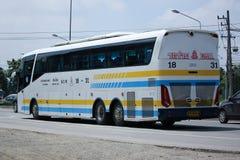Scania 15 Meterbus van Sombattour-bedrijf Stock Afbeeldingen