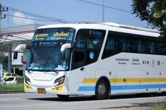 Scania ônibus de 15 medidores da empresa de Sombattour Imagens de Stock