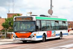 Scania OmniCity Royalty Free Stock Images
