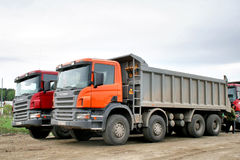 Scania P380 Stock Image