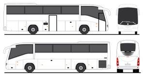 Scania-Passagiersbus Irizar Stock Foto's