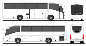 Scania Passenger Bus Irizar Stock Photos