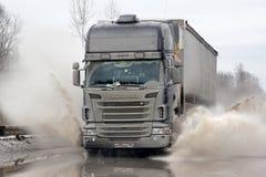 Scania R420 Lizenzfreies Stockfoto