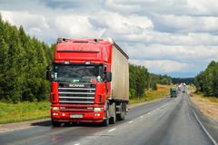 Scania R420 Stock Photography