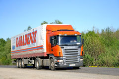 Scania R420 Royalty Free Stock Photography