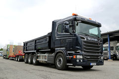 Scania R580 Euro 6 V8 Construction Truck Royalty Free Stock Photo