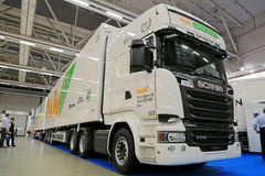 Scania R730 Long Combination Vehicle Stock Image