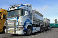 Scania R580 Tank Truck Royalty Free Stock Photo