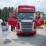 Scania R450 Topline EURO 6 Truck Royalty Free Stock Images