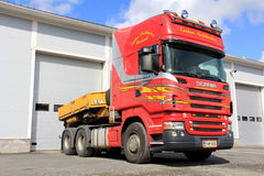 Scania R580 Tow Truck Stock Afbeelding