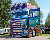 Scania R520 Truck of Martin Pakos Royalty Free Stock Images