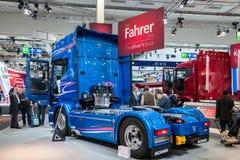 Scania R730 V8 ciężarówka Zdjęcia Royalty Free