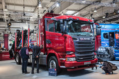 Scania R520 V8 truck Stock Photography