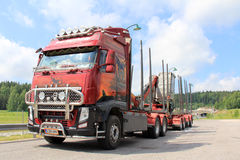 Scania R500 Vehicle Carrier Truck Stock Photo