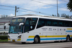 Scania un bus dei 15 tester della società di Sombattour Fotografia Stock