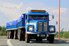 Scania Vabis L76 Vintage Show Truck royalty free stock photo