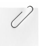 Scanned metal paper clip stock images