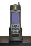 Scanner biométrique tenu dans la main Photographie stock libre de droits