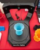 Scanner 3d an der Roboter-und Hersteller-Show Stockfoto
