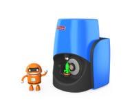 Scanner 3D personnel compact Photos libres de droits