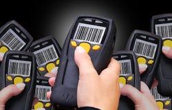 Scanner del codice a barre Fotografia Stock Libera da Diritti