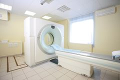 Scanner di CT Fotografia Stock Libera da Diritti