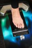 scanner du pied 3D Photo libre de droits