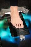 scanner du pied 3D Image libre de droits