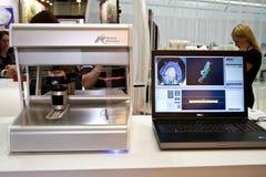 Scanner ottico 3d di NobelProcera Immagine Stock