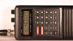Scanner radiofonico immagine stock
