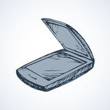 Scanner. Vector drawing Stock Photos