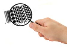 Scanning bar code #2 Stock Photography