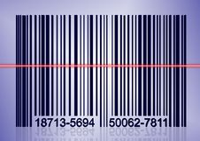 Scanning bar code Stock Photos