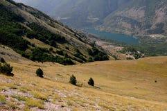 Scanno гор, Абруццо Стоковое Изображение RF