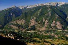 Scanno av berg, Abruzzo Fotografering för Bildbyråer