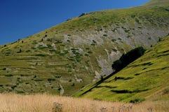 Scanno av berg, Abruzzo Arkivfoton