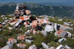 Scanno av berg, Abruzzo Royaltyfria Bilder