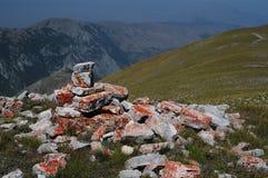 Scanno av berg, Abruzzo Royaltyfri Bild