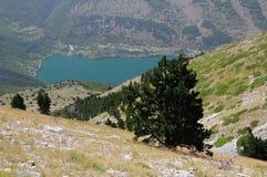Scanno av berg, Abruzzo Arkivfoto