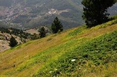 Scanno av berg, Abruzzo Arkivbilder