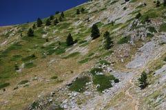 Scanno av berg, Abruzzo Royaltyfria Foton