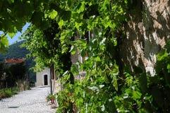 Scanno fratturaliten stad av Abruzzo Royaltyfri Fotografi