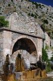 Scanno fratturaliten stad av Abruzzo Arkivfoto