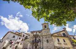 Scanno square - HDR Stock Image