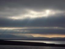 Scapa Flow sundown Stock Photography
